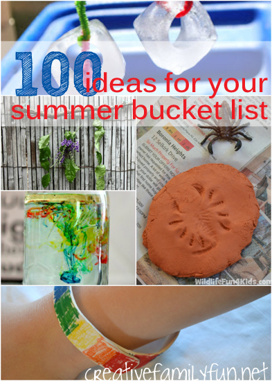 Even more summer bucket list ideas
