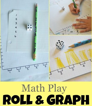 Math Play: Roll and Graph