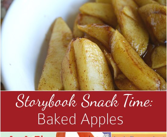 Storybook Snack Time: Baked Apples