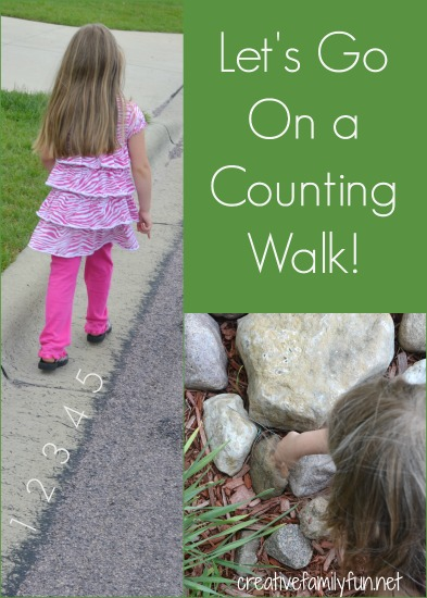 http://www.creativefamilyfun.net/2012/06/go-outside-counting-walk.html