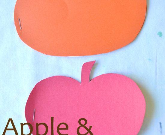 Apple and Pumpkin Mini Books