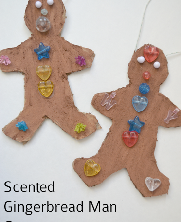 Scented Gingerbread Man Ornaments