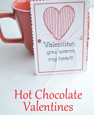 Hot Chocolate Valentines
