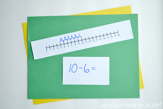 Math Homework 101: How to Use a Number Line