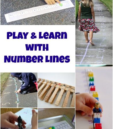 Play and Learn with Fun Number Line Activities
