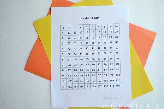 Math Homework 101: What is a Hundred Chart?