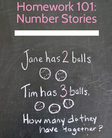 Math Homework 101: Number Stories
