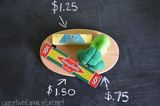 Number Stories Store: A Pretend Play Math Activity