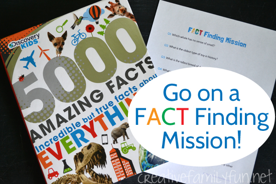 Go on a Fact Finding Mission