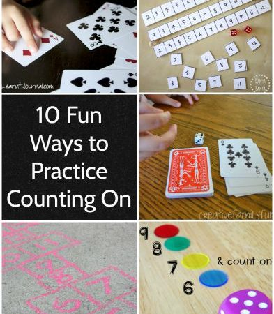 10 Fun Ways to Practice Counting On