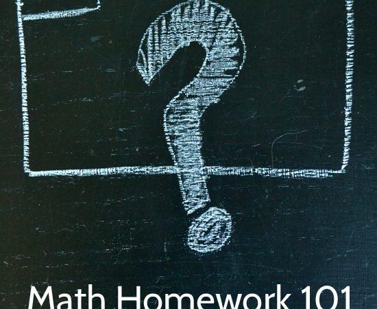 Math Homework 101: Name-Collection Boxes