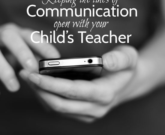 Keeping the Lines of Communication Open With Your Child's Teacher