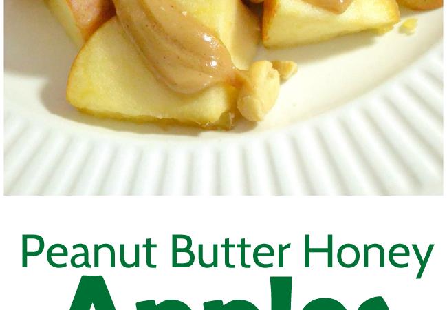 Peanut Butter Honey Apples