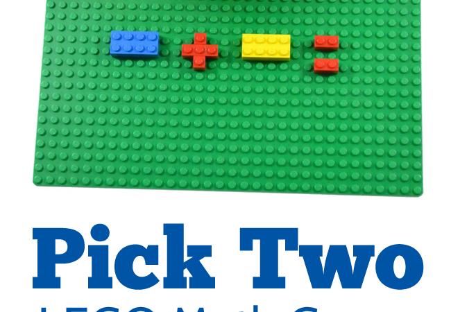 Pick Two – A Fun LEGO Math Game