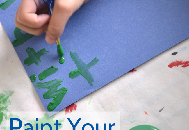 Paint Your Spelling Words