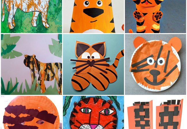 All About Tigers: Books, Crafts, and Activities