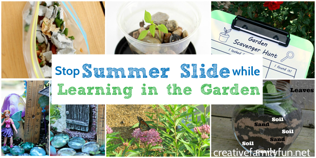 Stop Summer Slide While Learning in the Garden