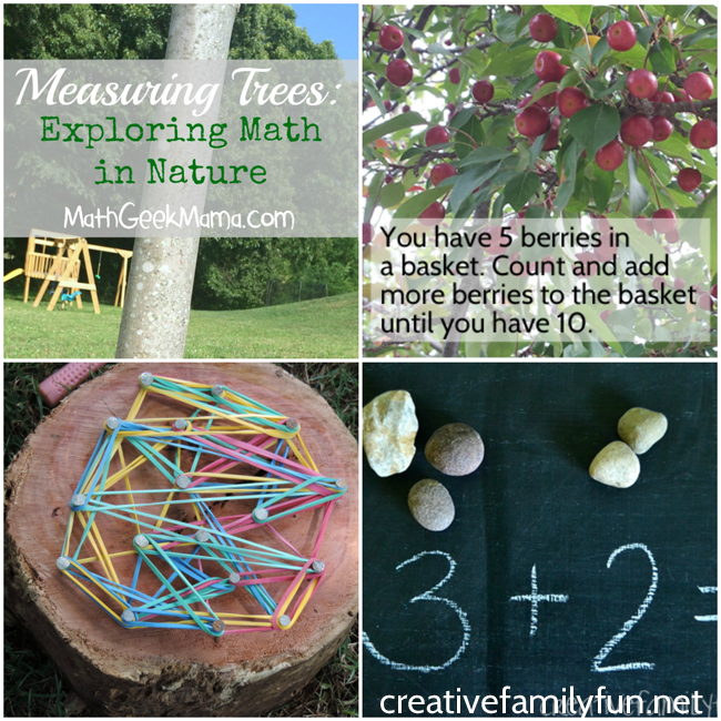 Stop summer slide and practice your math with some fun outdoor math games. They'll get you out in nature and get you moving while you practice math.