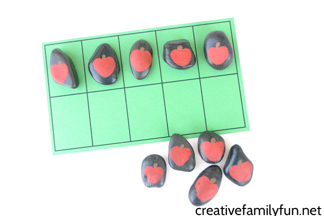 Apple Counting Rocks