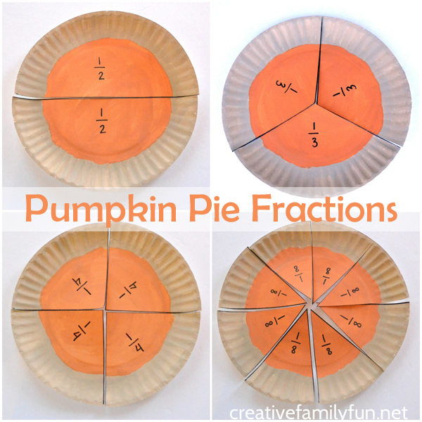 Pumpkin Pie Fractions