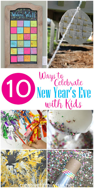 What are you doing on New Year's Eve? If you're spending time with your family, you'll love one of these fun ways to celebrate New Year's Eve with kids.