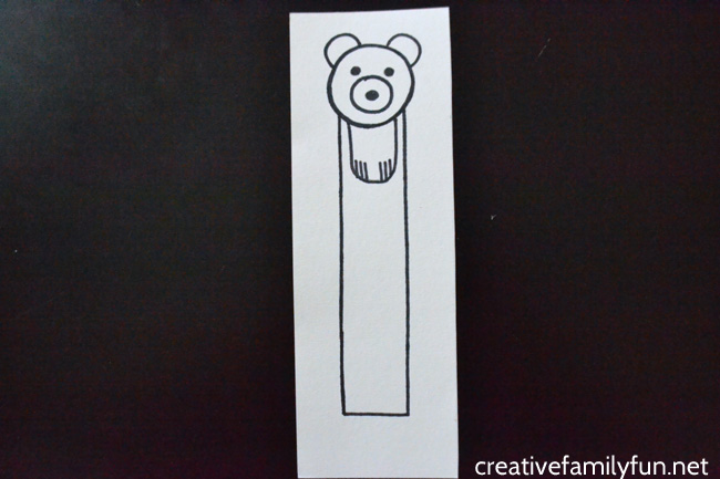 Mark the pages in your book with this cute polar bear bookmark. It's so easy to make when you follow along with this step-by-step tutorial.