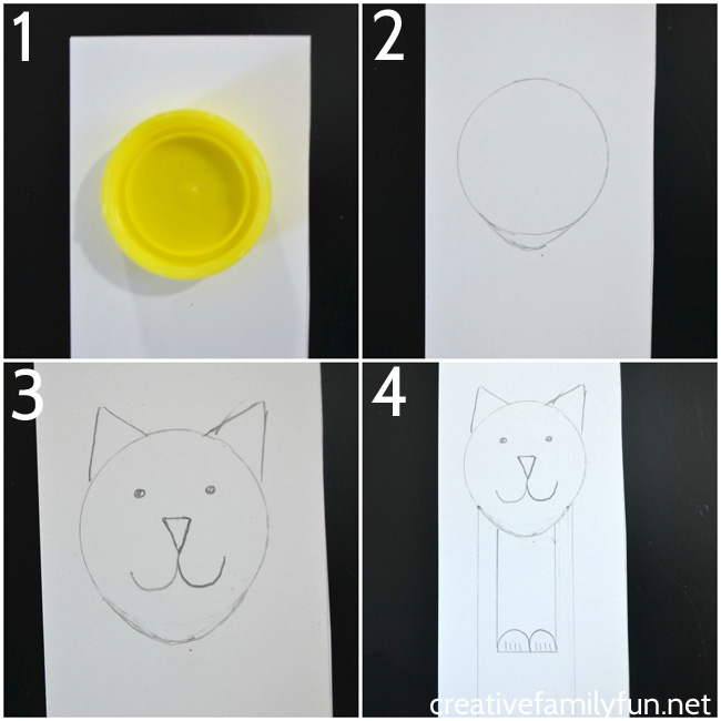 Mark the pages in your book with this cute tabby cat bookmark. It's easy to make when you follow these step-by-step instructions.
