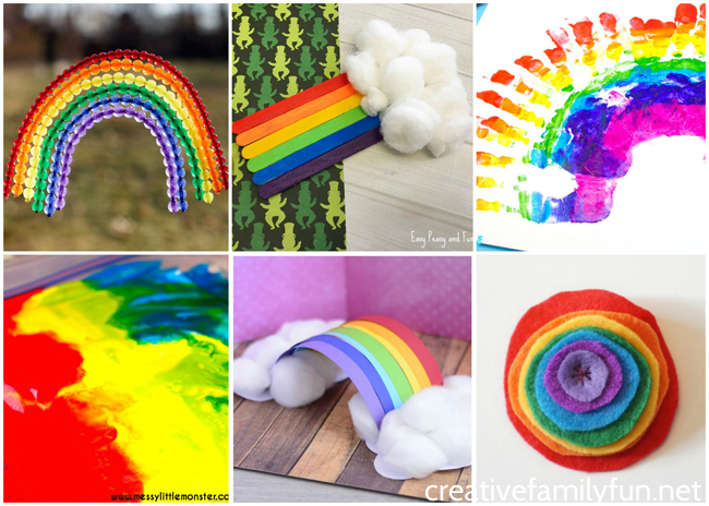 The Ultimate List Of Rainbow Crafts For Kids Creative Family Fun