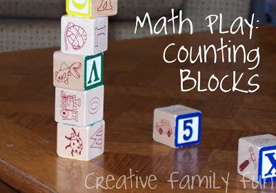Math Play: Counting Blocks
