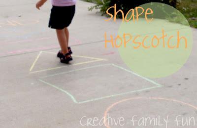 Shape Hopscotch