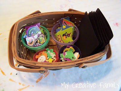 Card Making Basket