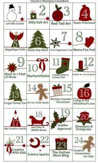 Creative Christmas Countdown