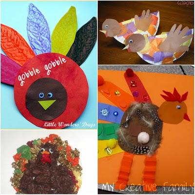 Thanksgiving Craft Roundup