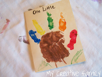 Hand Print Turkey Cards
