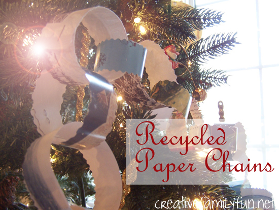 Recycled Paper Chains