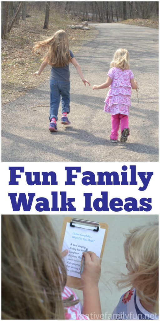 Family walks are a great way to get exercise and have fun together. Here are 10 fun walk ideas for families that will get you outside and having fun with your kids. Perfect for all ages..
