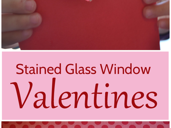 Stained Glass Window Valentines