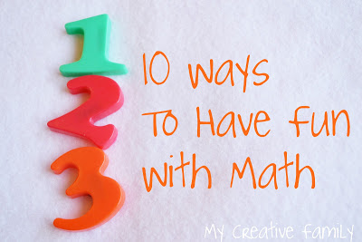 Math doesn't have to be boring especially if you learn with one of these hands-on and fun ways to learn math. Play and learn at the same time.