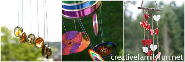 Decorate your outdoor spaces with one of these beautiful and colorful Wind Chime Crafts for Kids. Many of these crafts use recycled materials and are easy to make.