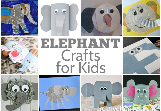 Fun Elephant Crafts for Kids
