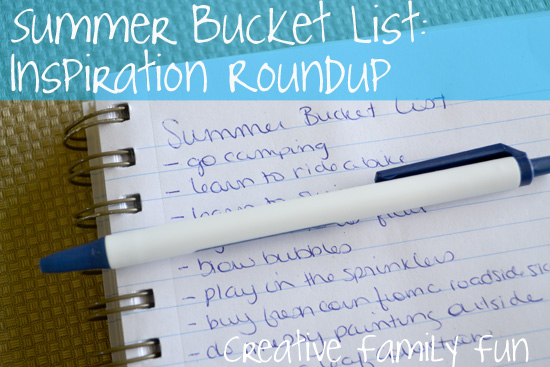 Summer Bucket List: Inspiration Roundup