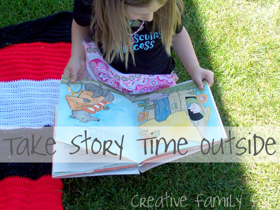 Go Outside: Take Story Time Outside