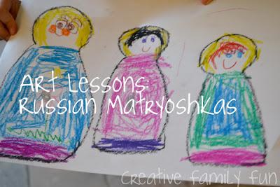 Art Lessons: Russian Matryoshka Dolls