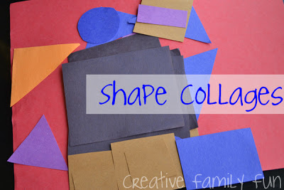 Get Crafty: Shape Collages