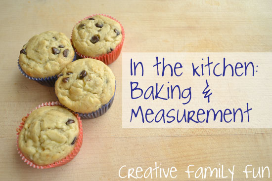 In the Kitchen: Baking & Measurement