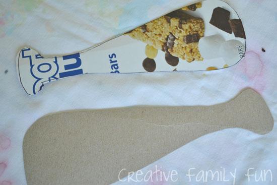 Cardboard Baseball Bat Kids Craft - Creative Family Fun