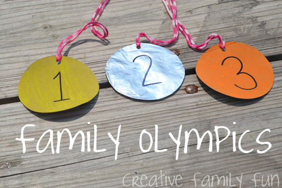 Creative Family Fun Nights: Family Olympics