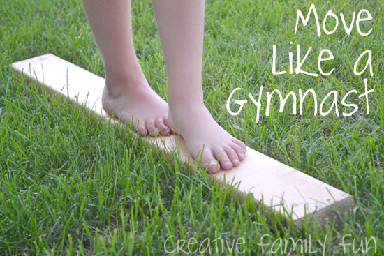 Bloggers Go Olympics: Move Like a Gymnast
