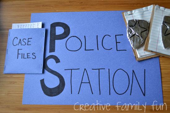 Let's Pretend: Police Station