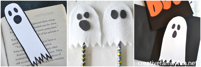 Get ready for Halloween with these ghost crafts for kids. Grab your supplies and get started creating these cute Halloween crafts.